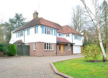 Thumbnail 4 bed detached house to rent in Linksway, Northwood, Middlesex