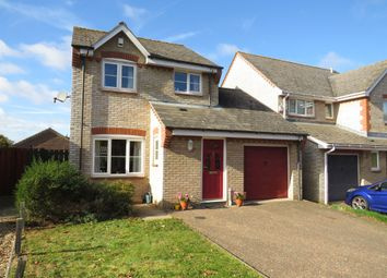 Thumbnail 3 bed detached house for sale in Husenbeth Close, Costessey, Norwich