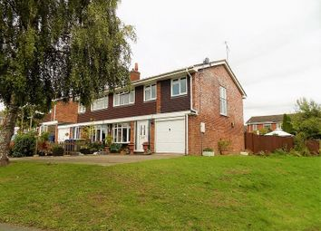 Thumbnail 4 bed semi-detached house for sale in Knightley Way, Gnosall, Stafford