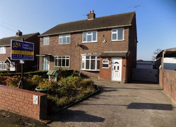 Thumbnail 3 bed semi-detached house for sale in Froghall Road, Ipstones, Staffordshire