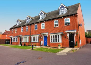 Thumbnail 3 bed town house for sale in Bristol Court, Swadlincote