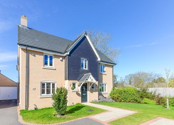 Thumbnail 4 bedroom detached house for sale in Marys Way, Meldreth, Meldreth