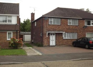 Thumbnail 3 bed property to rent in Belloc Close, Crawley