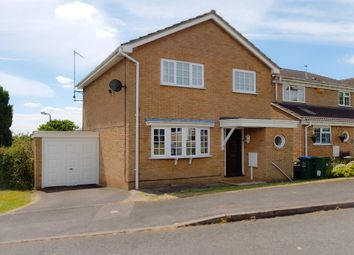 Thumbnail 3 bed detached house for sale in Busby Close, Buckingham