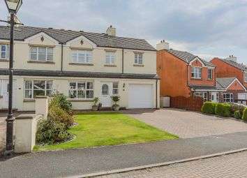 Thumbnail 4 bed semi-detached house for sale in Abbots Close, Abbotswood, Ballasalla