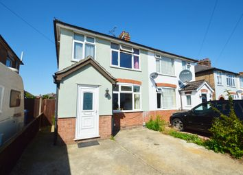Thumbnail 3 bed semi-detached house for sale in Fairfield Road, Ipswich