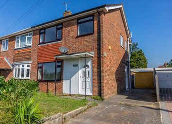 3 bed semi-detached house for sale in Wickenden Crescent, Willesborough, Ashford, Kent TN24
