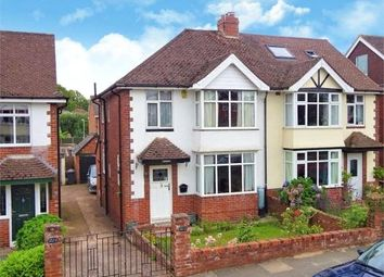 Thumbnail 3 bed semi-detached house for sale in Whipton Lane, Heavitree, Exeter, Devon