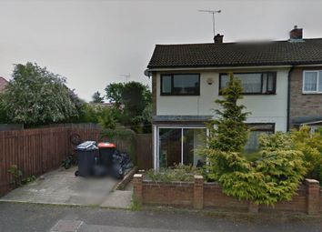 Thumbnail 3 bed end terrace house to rent in Camp Drive, Houghton Regis