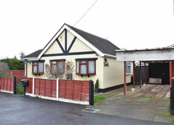 Thumbnail 2 bed detached bungalow for sale in Nightingale Road, Canvey Island, Essex