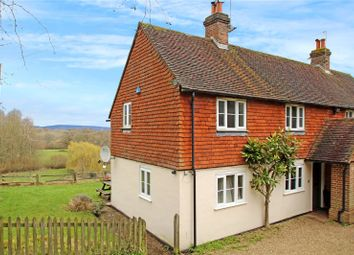 Thumbnail 3 bed semi-detached house for sale in Truggers Lane, Chiddingstone Hoath, Edenbridge