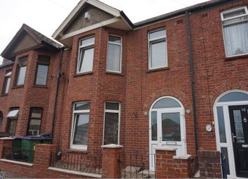 Thumbnail 3 bed terraced house for sale in Gordon Road, Folkestone