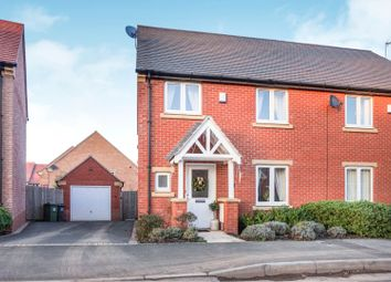 Thumbnail 3 bed semi-detached house for sale in Buttercup Lane, Shepshed
