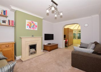 Thumbnail 3 bed terraced house for sale in Woodbridge Avenue, Leatherhead, Surrey