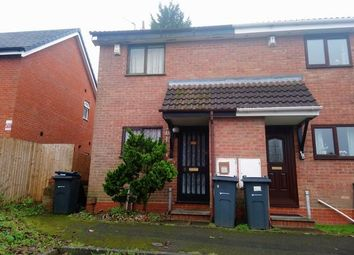 Thumbnail 2 bed terraced house to rent in Blakemore Close, Quinton, Birmingham