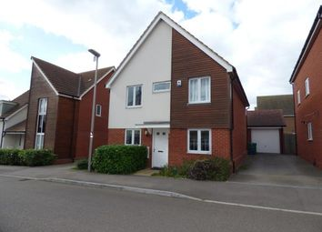 Thumbnail 4 bed detached house for sale in Corfe Meadows, Broughton, Milton Keynes, Buckinghamshire