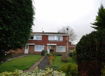 Thumbnail 3 bed terraced house to rent in Fox Cover, Ashington