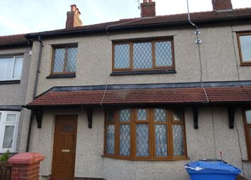 Thumbnail 3 bed terraced house for sale in Marsh Road, Rhyl