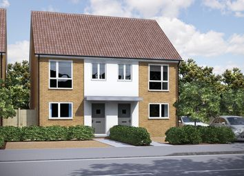 Thumbnail 3 bed semi-detached house for sale in Finch Road, Earley, Reading