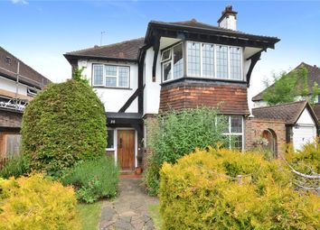 Thumbnail 4 bedroom detached house for sale in Anne Boleyns Walk, Cheam, Sutton