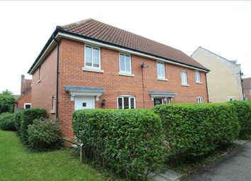 Thumbnail 3 bedroom end terrace house to rent in Peasey Gardens, Kesgrave, Ipswich