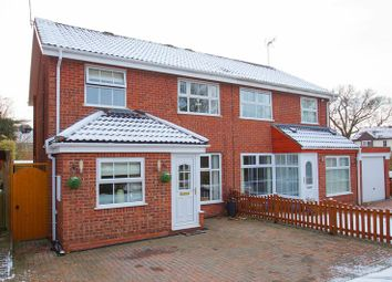 Thumbnail 3 bed semi-detached house for sale in Hindlip Close, Winyates Green, Redditch, Worcestershire
