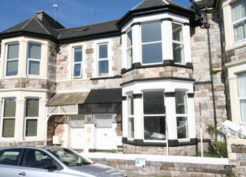 Thumbnail 4 bed flat to rent in Apsley Road, Mutley, Plymouth
