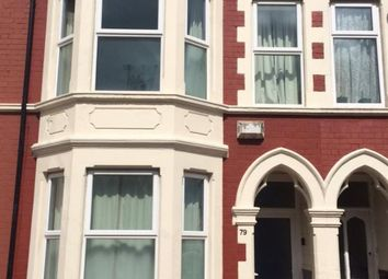 Thumbnail 5 bedroom terraced house to rent in Dogfield Street, Cardiff