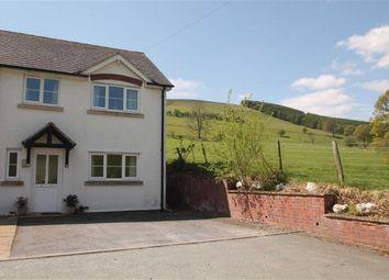 Thumbnail 2 bed semi-detached house for sale in Cysgod Y Berwyn, Llanarmon Dyffryn Ceiriog, Llangollen