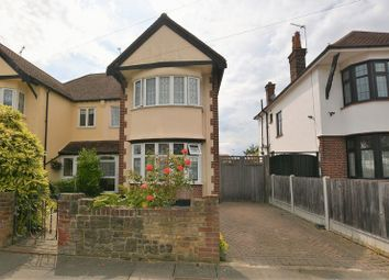 Thumbnail 4 bed semi-detached house for sale in Thurston Avenue, Southend-On-Sea