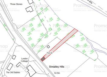 Thumbnail Land for sale in Plot 2A Riverside Amenity, Land Reading Road, Streatley, Reading, Berkshire