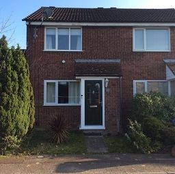 Thumbnail 2 bedroom end terrace house to rent in Amderley Drive, Norwich