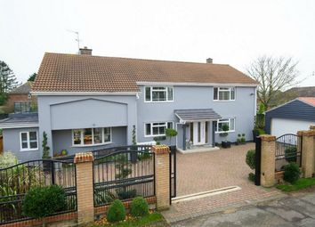 Thumbnail 5 bedroom detached house for sale in Hail Weston, St Neots, Cambridgeshire