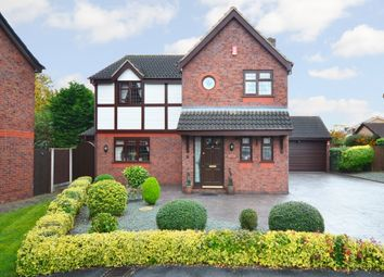 Thumbnail 4 bed detached house for sale in Hanbury Close, Wistaston, Crewe