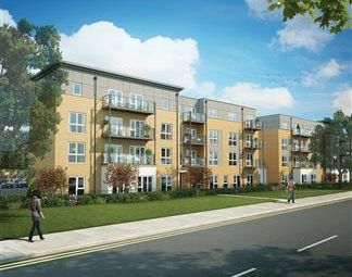 Thumbnail 2 bed flat for sale in Off Porters Way, West Drayton