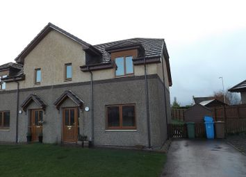 Thumbnail 3 bed semi-detached house for sale in West Newfield Crescent, Alness