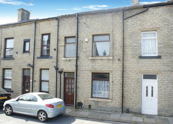 Thumbnail 3 bed terraced house for sale in Station Road, Denholme, West Yorkshire