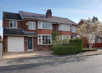 Thumbnail 5 bed semi-detached house for sale in Newlands Avenue, Cheadle Hulme, Cheadle