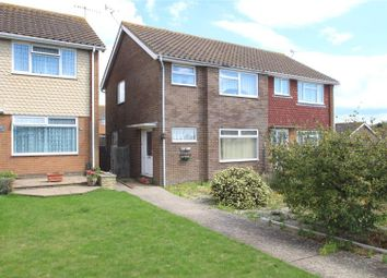 Thumbnail 3 bed semi-detached house for sale in Trent Close, Sompting, West Sussex