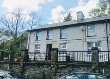 Thumbnail 2 bed end terrace house for sale in Glan Y Pwll Road, Blaenau Ffestiniog, Gwynedd