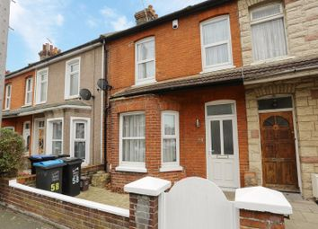 Thumbnail 2 bedroom terraced house for sale in Hastings Avenue, Margate