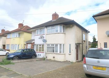 Thumbnail 2 bed semi-detached house to rent in Longford Avenue, Feltham