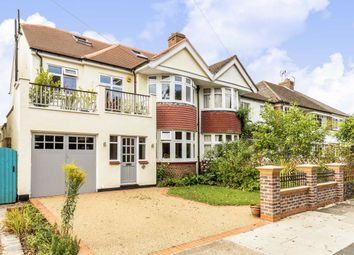 Thumbnail 5 bed semi-detached house for sale in Burtons Road, Hampton Hill, Hampton