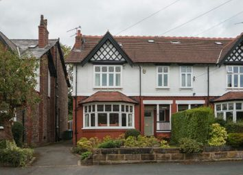 Thumbnail 5 bed semi-detached house for sale in Lindop Road, Hale, Altrincham