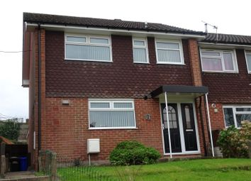 Thumbnail 3 bed town house for sale in Litton Close, Ilkeston