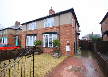 Thumbnail 2 bed semi-detached house for sale in Meadowfield Road, Darlington