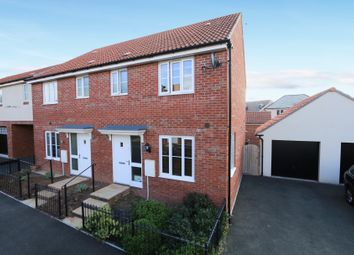 Thumbnail 3 bed semi-detached house for sale in Barn Orchard, Cranbrook, Exeter