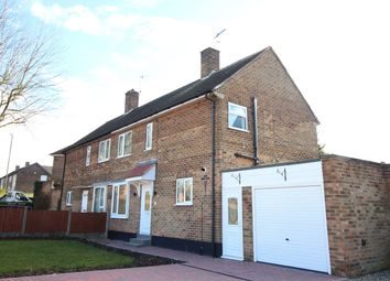 Thumbnail 3 bed semi-detached house for sale in Helston Drive, Nottingham
