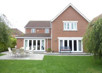 Thumbnail 5 bedroom detached house for sale in Barbers Drove North, Crowland, Peterborough