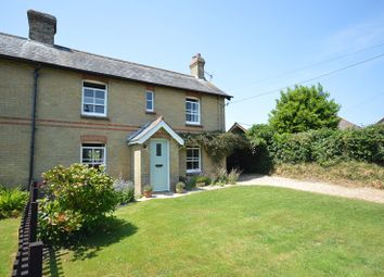 Thumbnail 4 bed cottage for sale in Rowes Lane, East End, Lymington